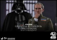 Gallery Image of Grand Moff Tarkin and Darth Vader Sixth Scale Figure