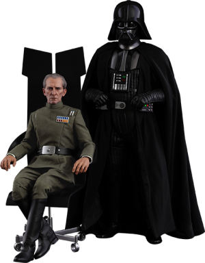Grand Moff Tarkin and Darth Vader Sixth Scale Figure