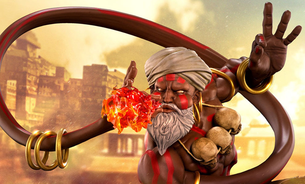 Gallery Feature Image of Dhalsim Statue - Click to open image gallery