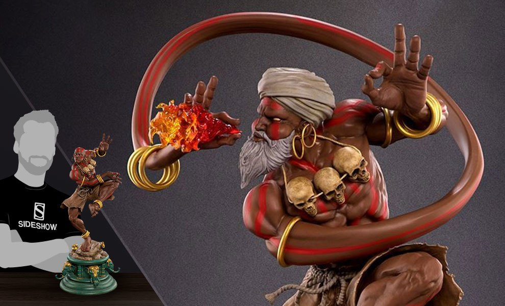 Gallery Feature Image of Dhalsim Yoga Master Statue - Click to open image gallery