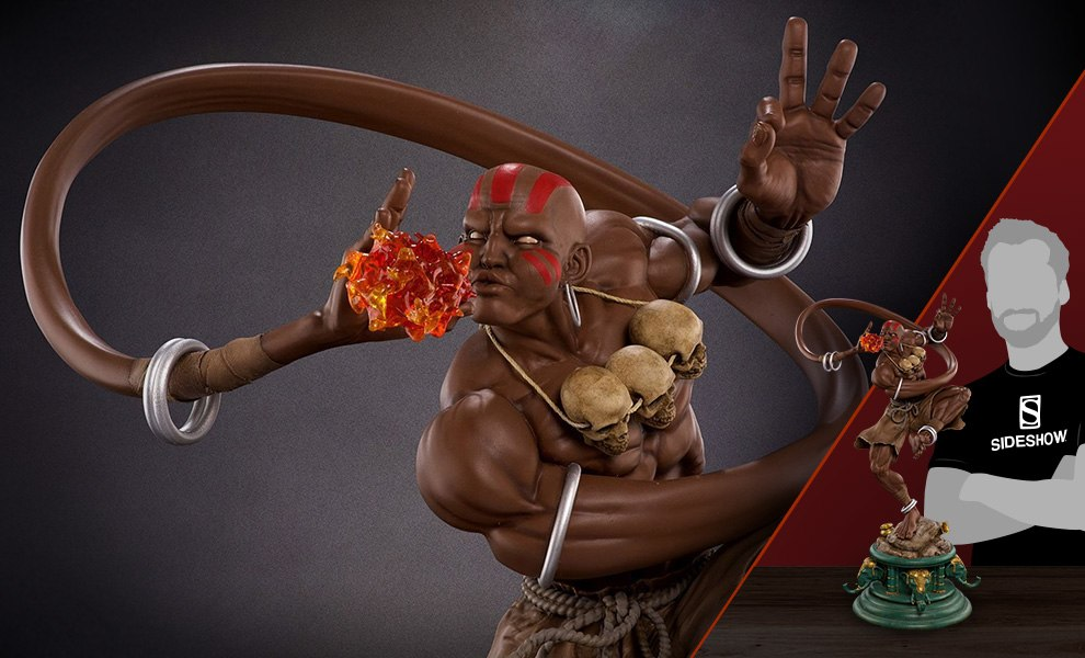 Gallery Feature Image of Dhalsim Classic Statue - Click to open image gallery