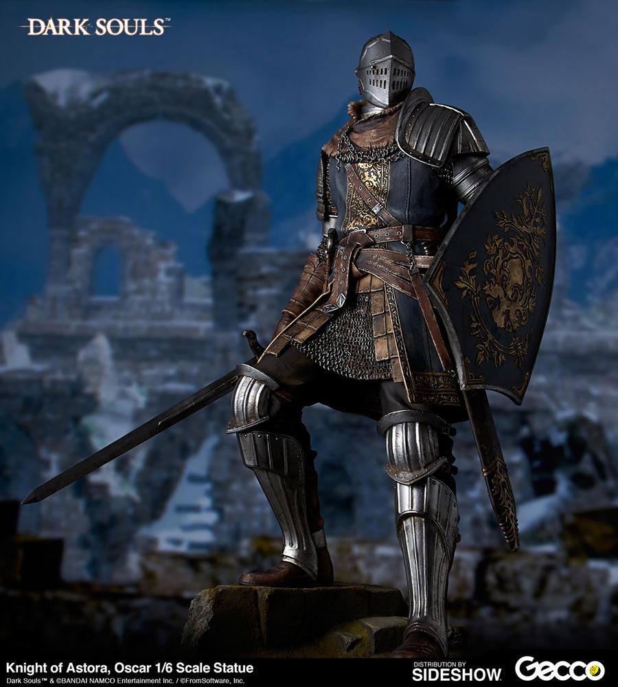 Dark Souls Knight Of Astora Oscar Statue By Gecco Co Sideshow
