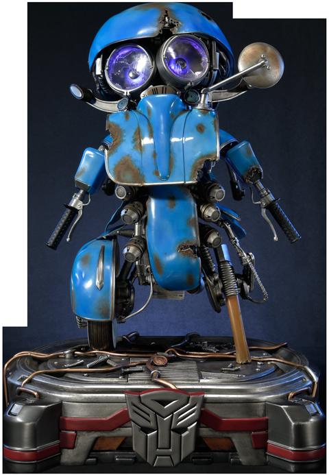 Prime 1 Studio Autobot Sqweeks Statue