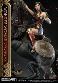 Gallery Image of Wonder Woman  on Horseback Statue