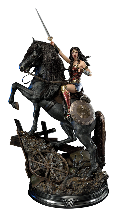 Prime 1 Studio Wonder Woman  on Horseback Statue