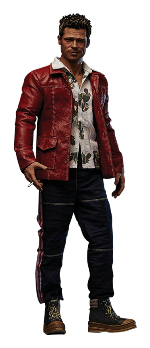 Tyler Durden Red Jacket Version Sixth Scale Figure