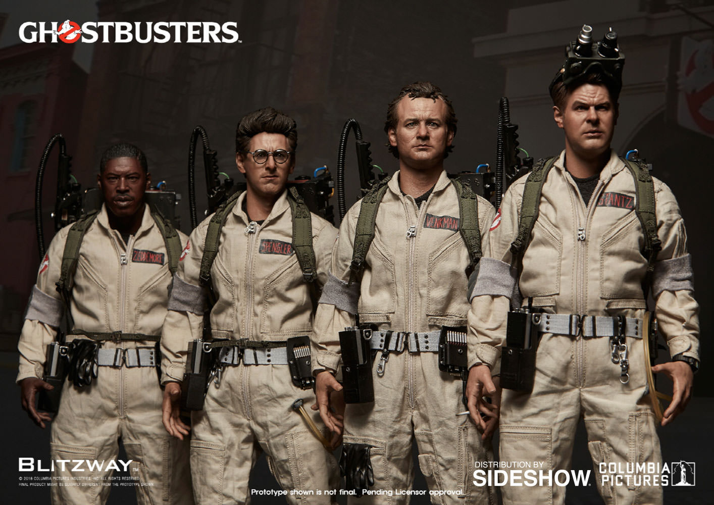 Ghostbusters Ghostbusters 1984 Special Pack Sixth Scale Figu Sideshow Collectibles