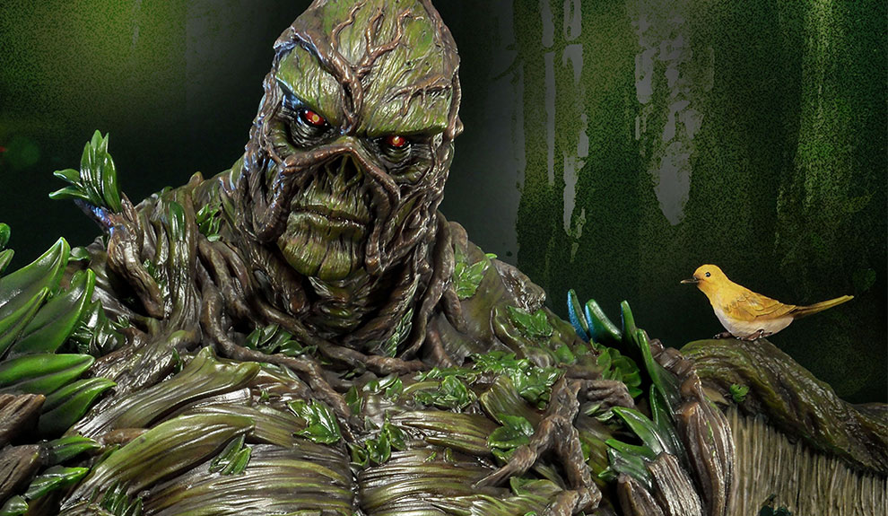 Gallery Feature Image of Swamp Thing Statue - Click to open image gallery