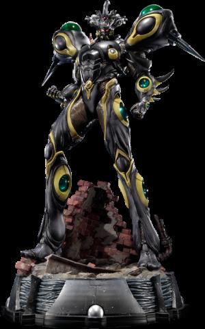 Gigantic Dark Statue