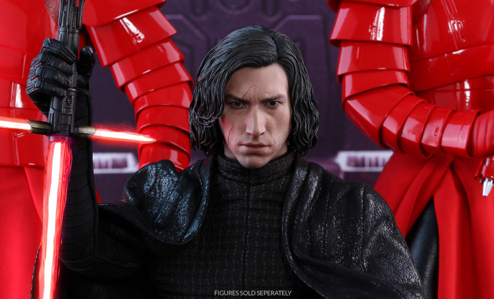Gallery Feature Image of Kylo Ren Sixth Scale Figure - Click to open image gallery
