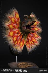 Gallery Image of Dilophosaurus Bust