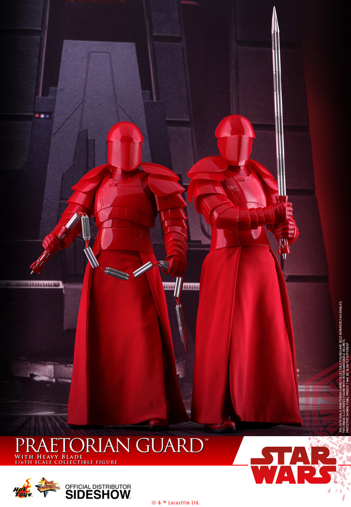 Hot Toys Star Wars Praetorian Guard DB Figure Stand loose 1//6th scale