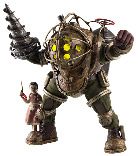 Threezero Big Daddy and Little Sister Sixth Scale Figure