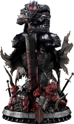 Guts Berserker Armor Statue