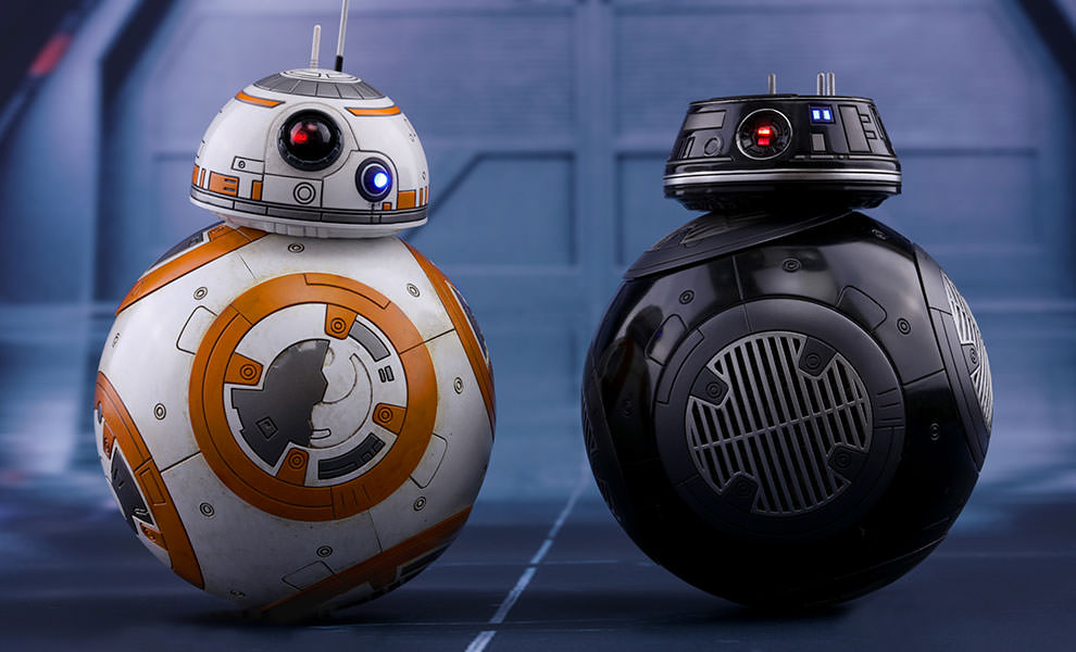 Gallery Feature Image of BB-8 and BB-9E Sixth Scale Figure - Click to open image gallery