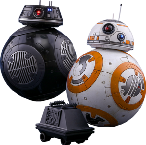 BB-8 and BB-9E Sixth Scale Figure