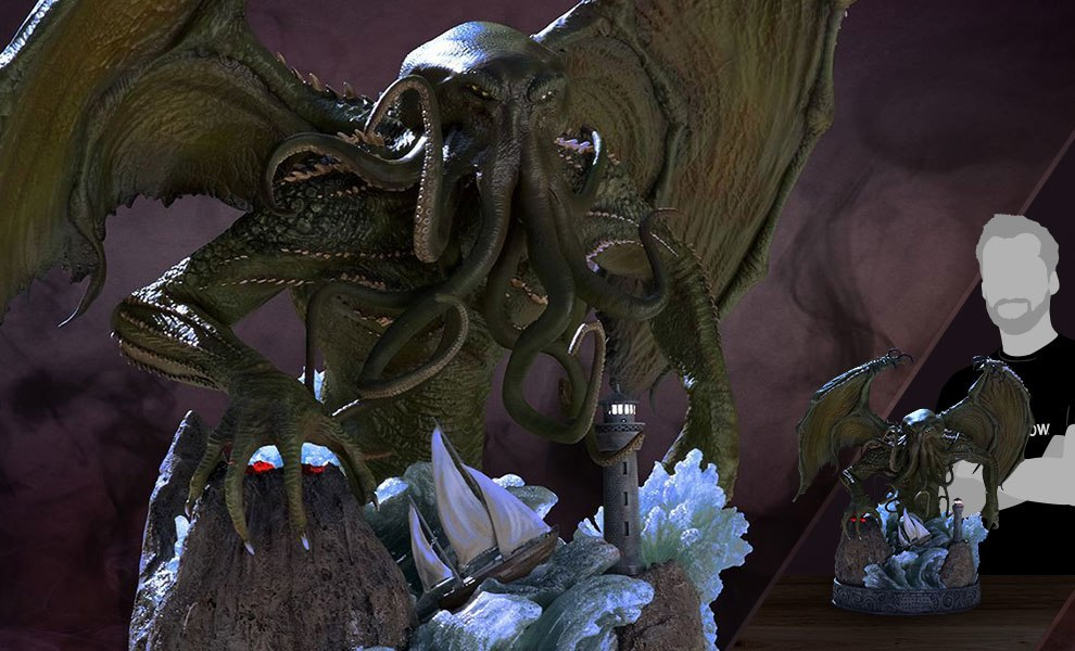 Gallery Feature Image of Cthulhu Statue - Click to open image gallery