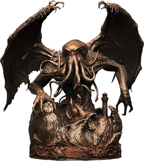PCS Collectibles Cthulhu Faux Bronze Statue