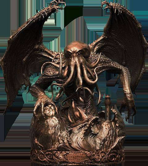 Pop Culture Shock Cthulhu Faux Bronze Statue