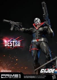 Gallery Image of Destro Statue