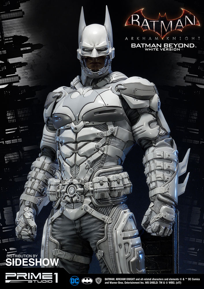 Dc Comics Batman Beyond White Version Statue By Prime 1 St Sideshow