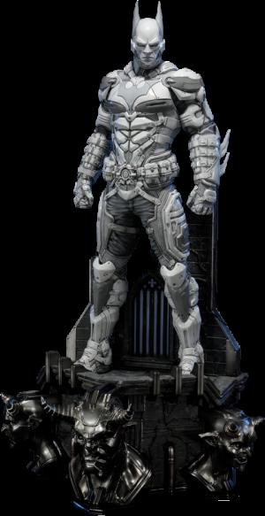 Batman Beyond - White Version Statue