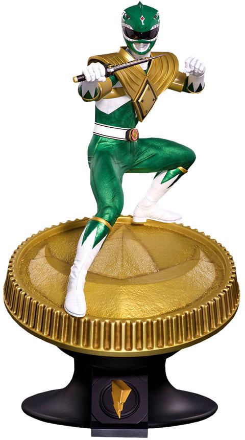 Pop Culture Shock Green Ranger Statue