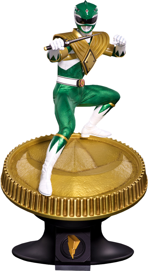Pop Culture Shock Green Ranger Statue