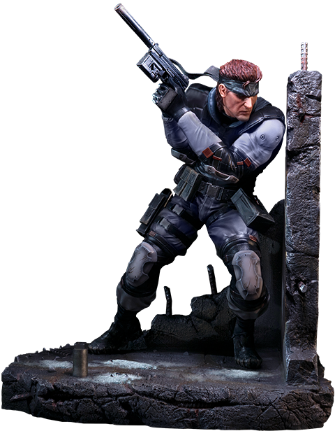 First 4 Figures Solid Snake Statue