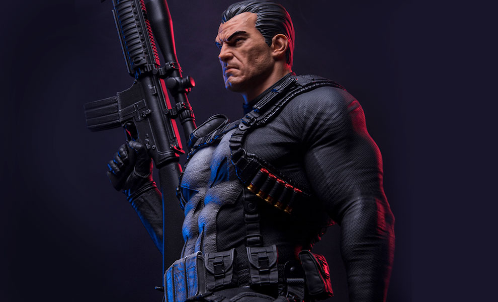 Gallery Feature Image of The Punisher Statue - Click to open image gallery