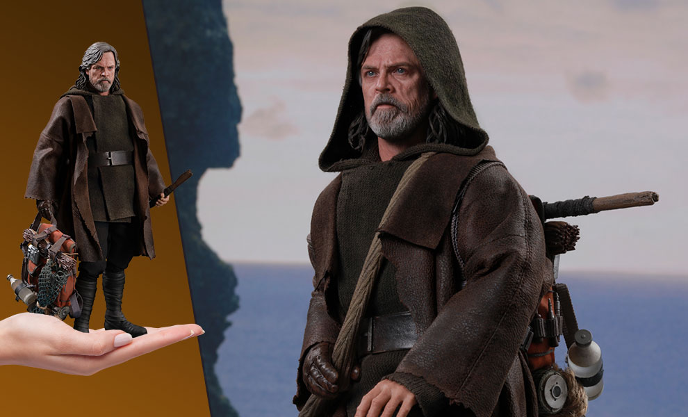Gallery Feature Image of Luke Skywalker Deluxe Version Sixth Scale Figure - Click to open image gallery