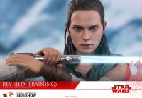 Gallery Image of Rey Jedi Training Sixth Scale Figure