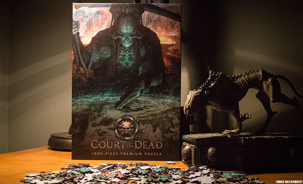 Gallery Feature Image of Court of the Dead The Dark Shepherds Reflection Puzzle - Click to open image gallery