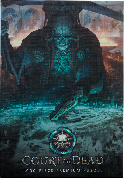 Project Raygun - USAOPOLY Court of the Dead The Dark Shepherds Reflection Puzzle