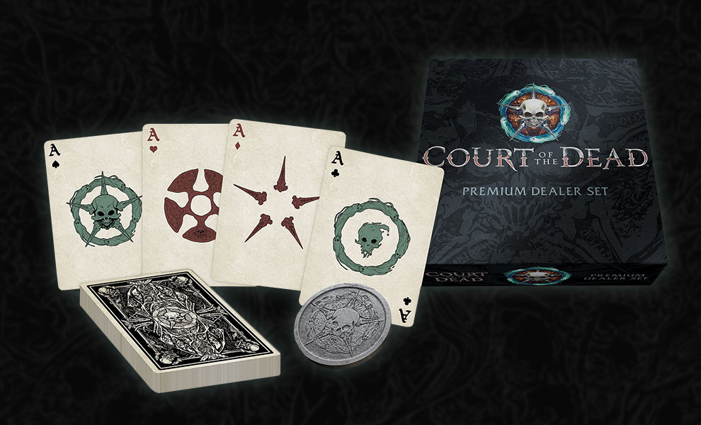 Gallery Feature Image of Court of the Dead Playing Card Set Miscellaneous Collectibles - Click to open image gallery