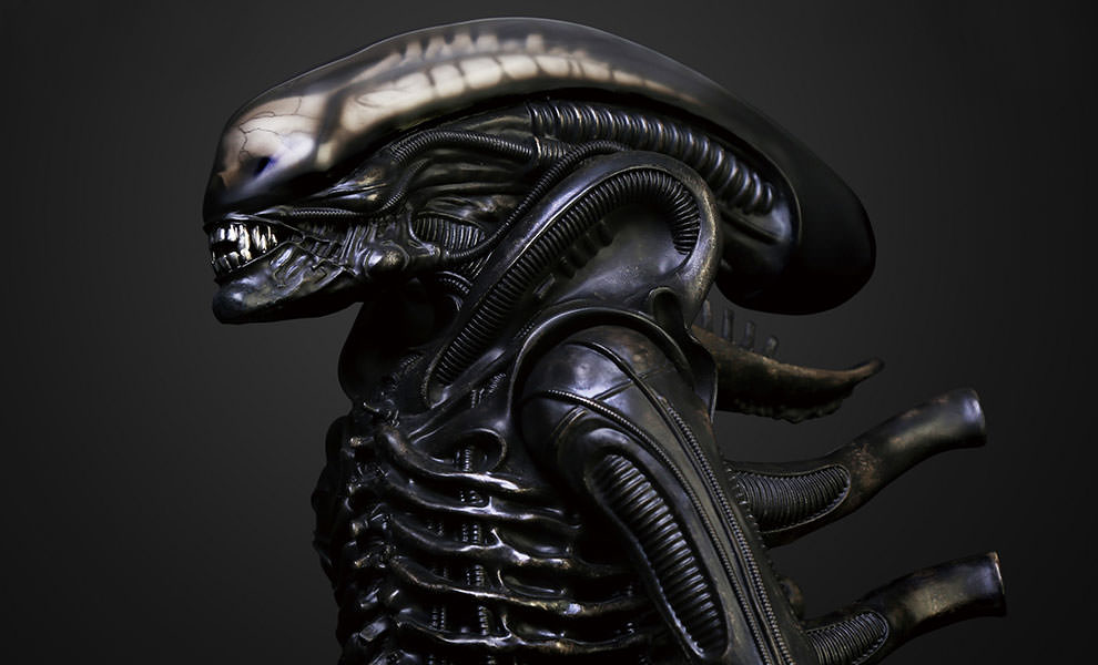 Gallery Feature Image of Gigers Alien Maquette - Click to open image gallery