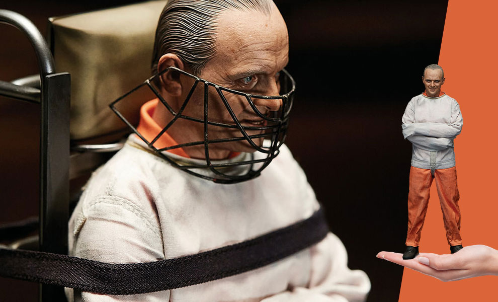Gallery Feature Image of Hannibal Lecter Straitjacket Version Sixth Scale Figure - Click to open image gallery