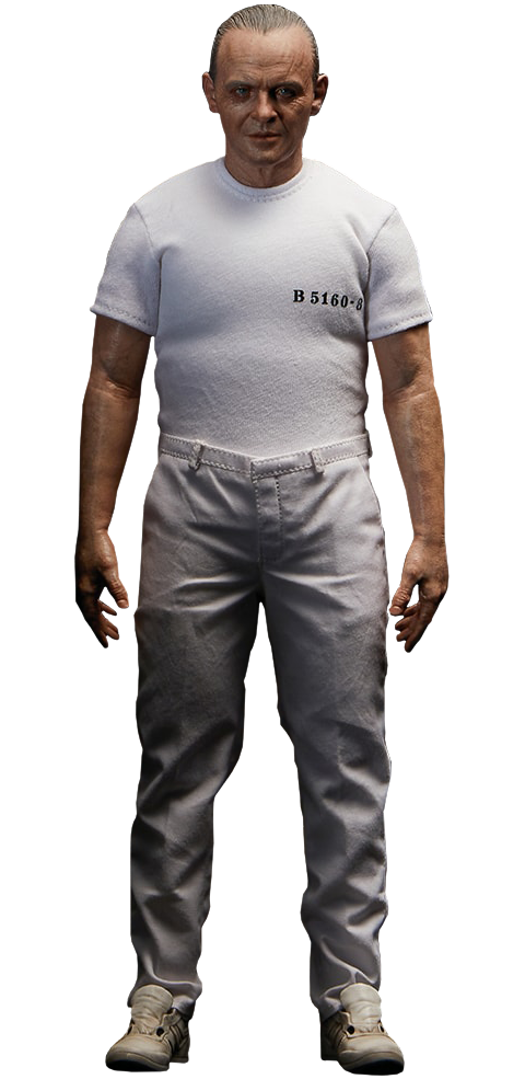 Blitzway Hannibal Lecter White Prison Uniform Version Sixth Scale Figure