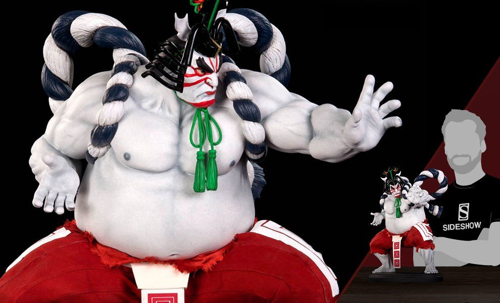 Gallery Feature Image of E-Honda Kabuki Statue - Click to open image gallery