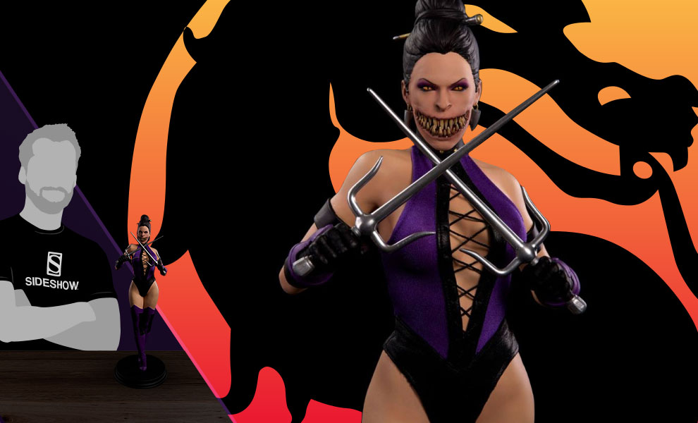 Gallery Feature Image of Mileena Statue - Click to open image gallery