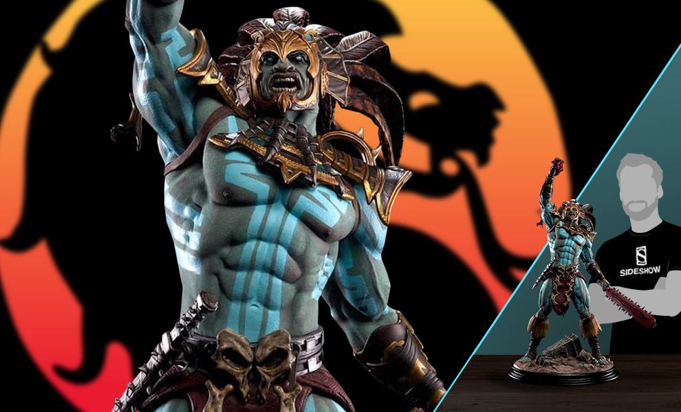 Gallery Feature Image of Kotal Kahn - War God Statue - Click to open image gallery