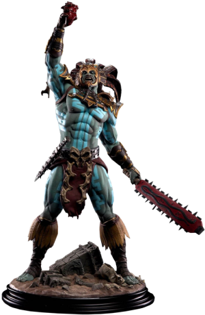 Kotal Kahn - War God Statue