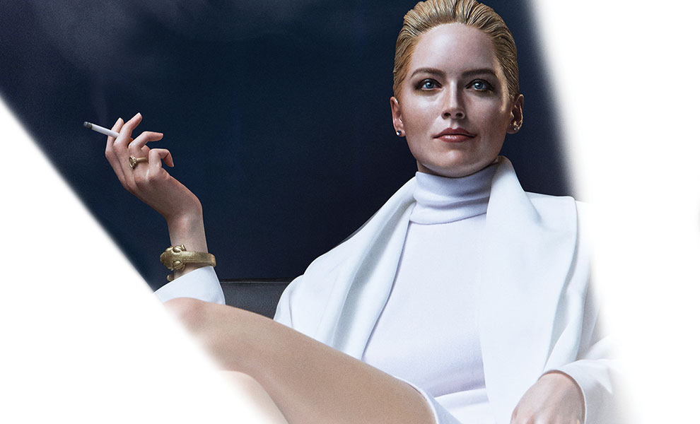 Gallery Feature Image of Sharon Stone Statue - Click to open image gallery