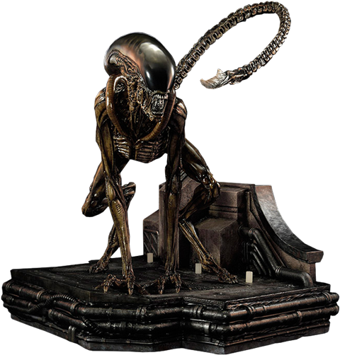 CoolProps Dog Alien Maquette