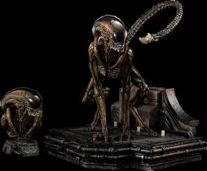 Dog Alien Deluxe Maquette