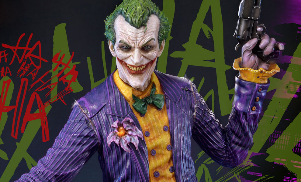 Gallery Feature Image of The Joker Statue - Click to open image gallery