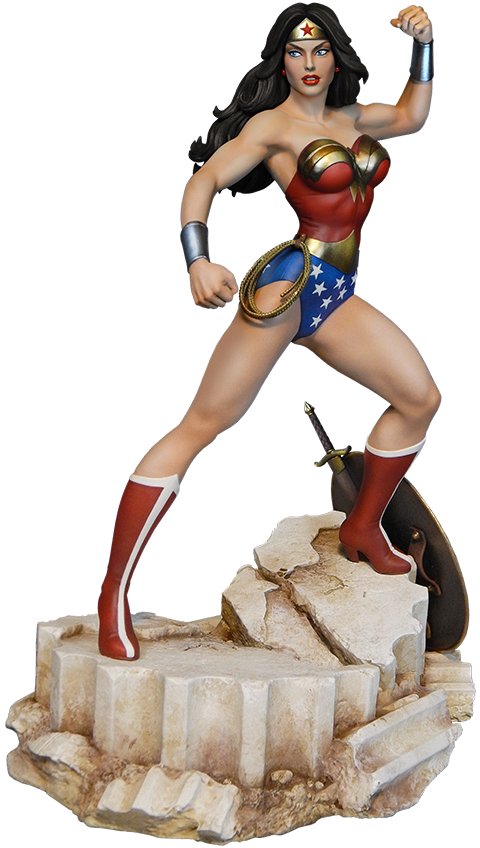 Tweeterhead Super Powers Wonder Woman Maquette