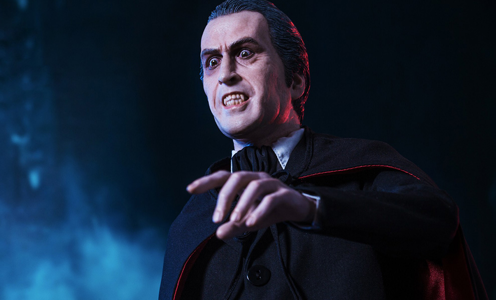 Gallery Feature Image of Count Dracula Quarter Scale Statue - Click to open image gallery