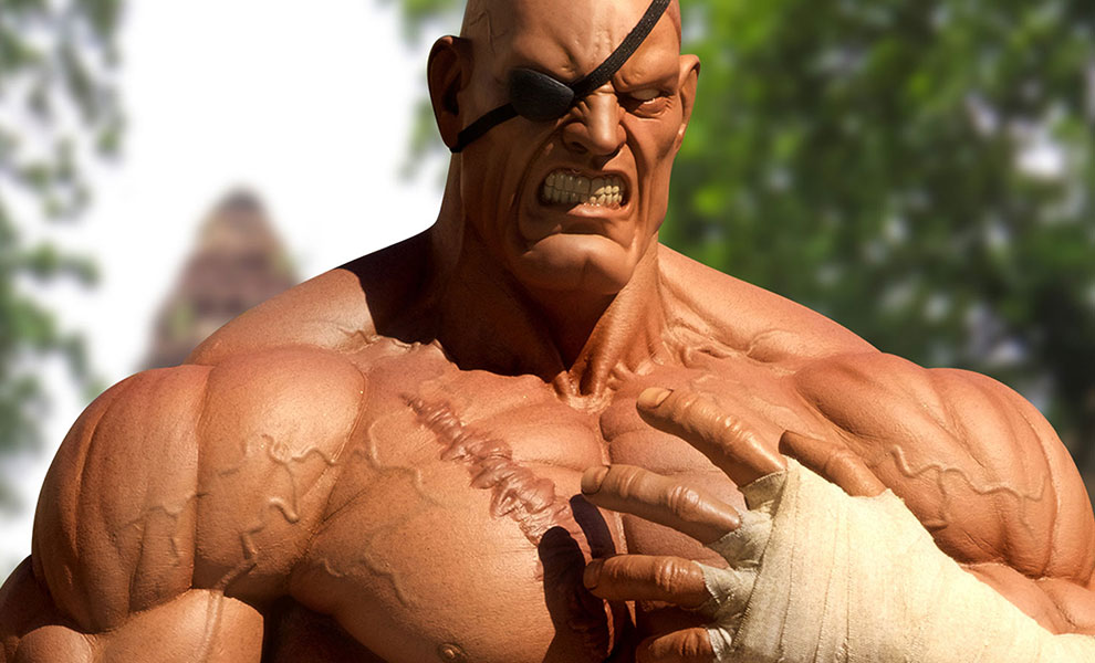 Gallery Feature Image of Sagat Statue - Click to open image gallery