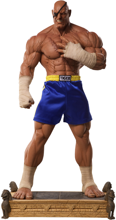 PCS Collectibles Sagat Statue